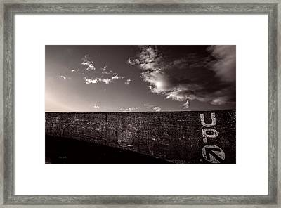 Up One Framed Print by Bob Orsillo