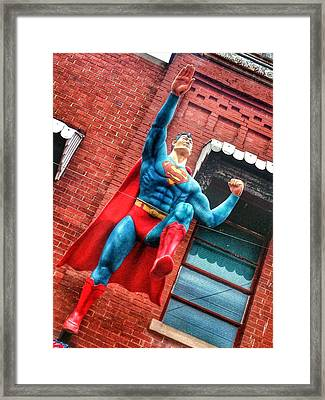 Up Up And Away Framed Print by Jame Hayes