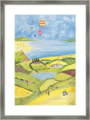 Up Up And Away  Framed Print by Judy Joel