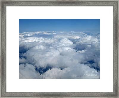 Up Up In The Sky Framed Print by Valerie Garner