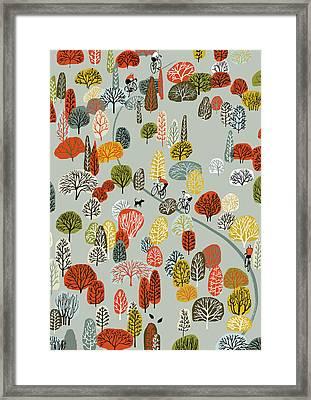 Uphill Framed Print by Eliza Southwood