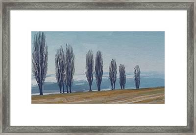 Uphill Wittem Eys Framed Print by Nop Briex