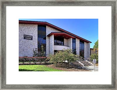 Upj Student Union Framed Print by John Waclo