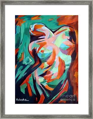 Uplift Framed Print by Helena Wierzbicki
