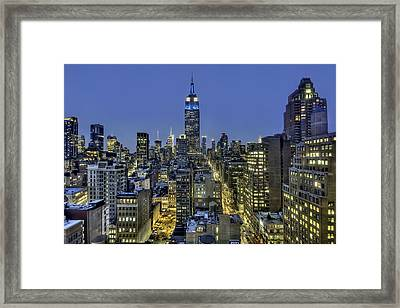 Upon A Restless Night Framed Print by Evelina Kremsdorf