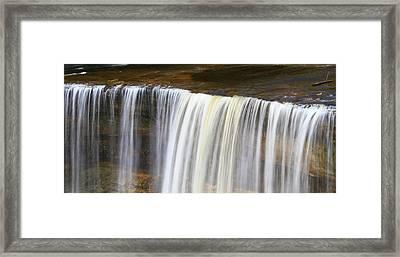 Upper Tahquamenon Framed Print by Dan Sproul