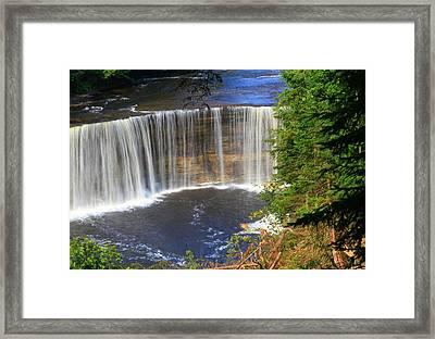 Upper Tahquamenon Falls Framed Print by Dan Sproul