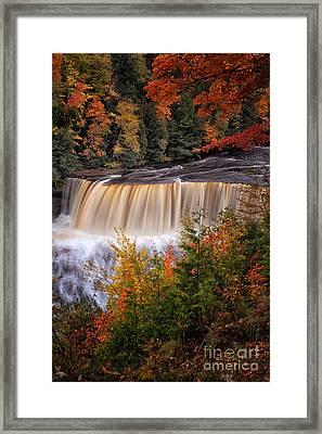Upper Tahquamenon Falls II Framed Print by Todd Bielby