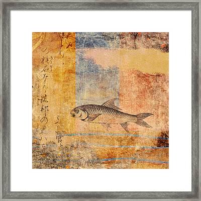 Upstream Framed Print by Carol Leigh