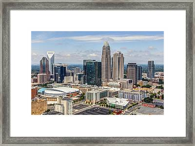 Uptown Framed Print by Chris Austin