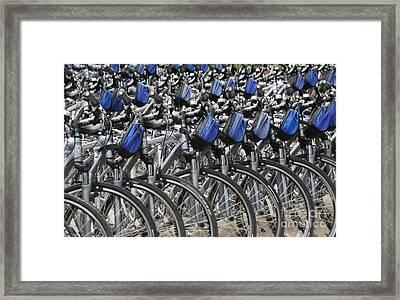 Urban Abstract Framed Print by Gene Mark