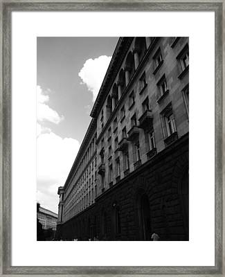 Urban Beauty Framed Print by Lucy D