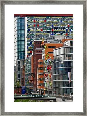 Urban Chaos Framed Print by Richard Cummings