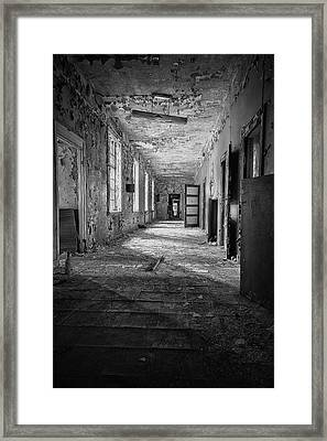 Urban Decay Framed Print by Erik Brede