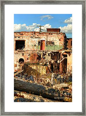 Urban Decay Framed Print by HD Connelly