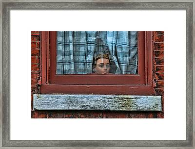 Urban Humor Framed Print by Allen Beatty