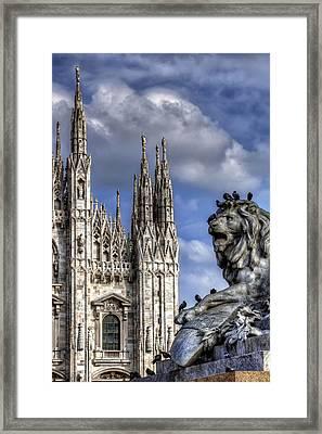 Urban Jungle Milan Framed Print by Carol Japp
