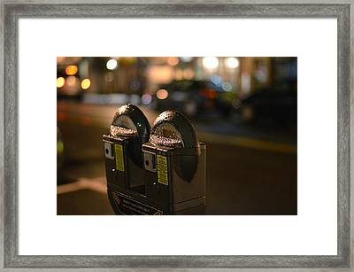 Urban Legend Framed Print by Laura Fasulo