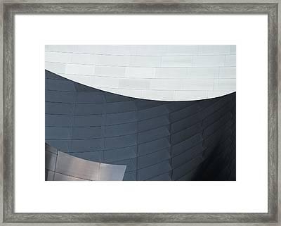 Urban Lines Framed Print by Pavel Bendov