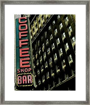 Urban Oasis Framed Print by Benjamin Yeager
