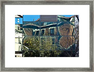 Urban Reflections Madrid Framed Print by Frank Tschakert