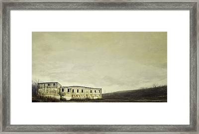 Urban Ruins Framed Print by Scott Norris