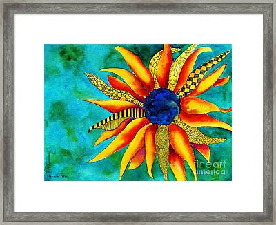 Urchin Framed Print by Shannan Peters