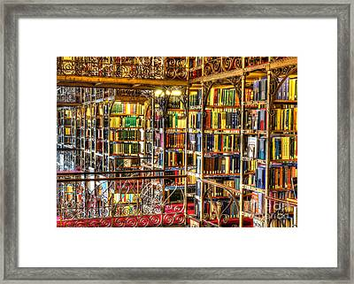 Uris Library Cornell University Framed Print by Brad Marzolf Photography