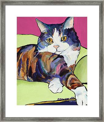 Ursula Framed Print by Pat Saunders-White