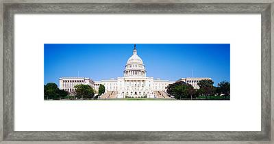 Us Capitol, Washington Dc, District Of Framed Print by Panoramic Images