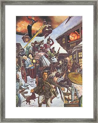 U.s. Invasion Framed Print by Jonathon Prestidge