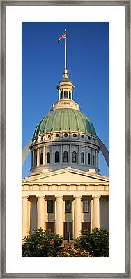 Us, Missouri, St. Louis, Courthouse Framed Print by Panoramic Images