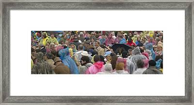 U.s. Senator John Kerry, Amidst Framed Print by Panoramic Images