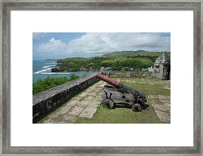 Us Territory Of Guam, Umatac Framed Print by Cindy Miller Hopkins
