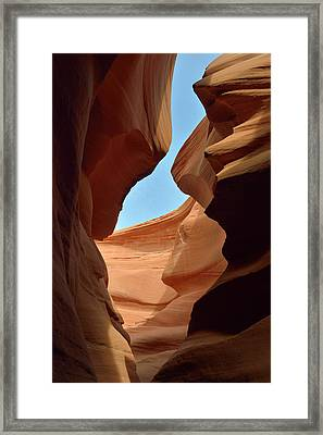 Usa, Arizona, Navajo Nation, Antelope Framed Print by Kevin Oke