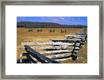 Usa, Arkansas Split-rail Fence Framed Print by Jaynes Gallery