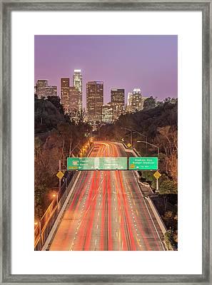 Usa, California, Los Angeles 110 Framed Print by Rob Tilley