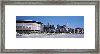 Usa, Colorado, Denver, Skyline Framed Print by Panoramic Images