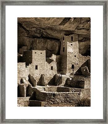 Usa, Colorado, Mesa Verde National Park Framed Print by Ann Collins