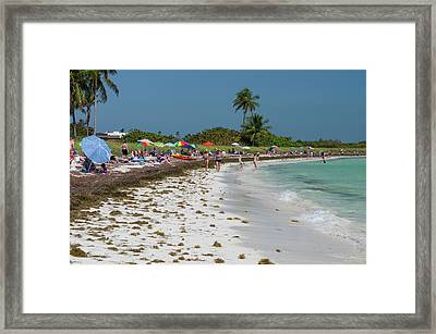 Usa, Florida, Big Pine Key, Bahia Honda Framed Print by Charles Crust