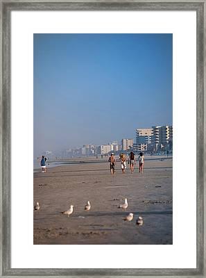 Usa, Florida, South Beach Framed Print by Lisa S. Engelbrecht