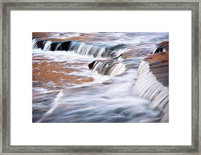 Usa, Indiana Cataract Falls State Framed Print by Rona Schwarz