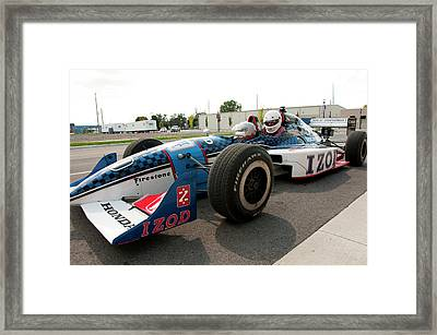 Usa, Indiana, Indianapolis Motor Framed Print by Lee Foster
