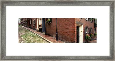Usa, Massachusetts, Boston, Beacon Hill Framed Print by Panoramic Images