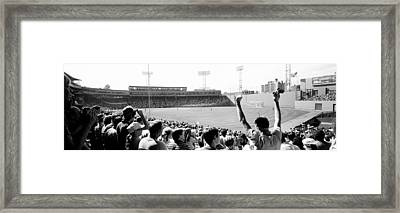 Usa, Massachusetts, Boston, Fenway Park Framed Print by Panoramic Images