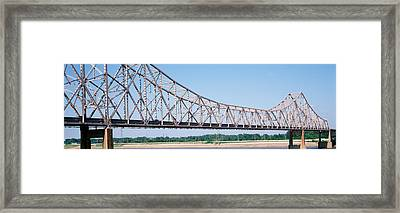 Usa, Missouri, St. Louis, Martin Luther Framed Print by Panoramic Images