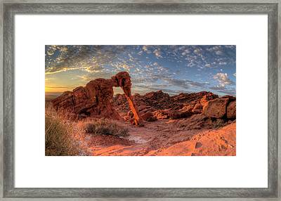 Usa, Nevada, Clark County Framed Print by Brent Bergherm