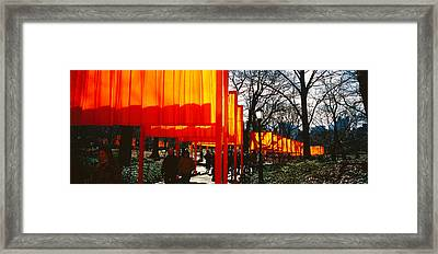 Usa, New York, New York City, Central Framed Print by Panoramic Images