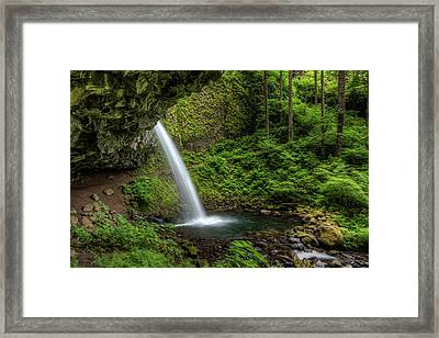 Usa, Or, Columbia River Gorge Framed Print by Brent Bergherm