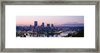 Usa, Pennsylvania, Pittsburgh Framed Print by Panoramic Images